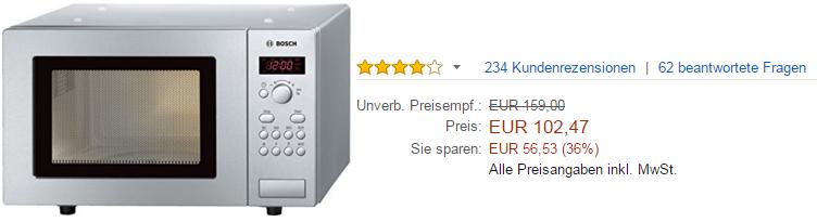 Bosch HMT75M451 Mikrowelle kaufen